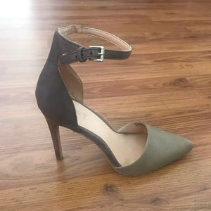 d5a5d862ab8 Adorable barely worn ankle strap heels from LOFT